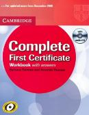 COMPLETE FIRST CERTIFICATE WB W/ANSWERS CD