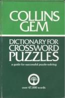 GEM DIC. CROSSWORD PUZZLES