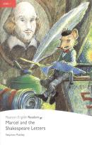 MARCEL AND THE SHAKESPEARE LETTERS - PENGUIN READERS LEVEL 1 - BOOK WITH AUDIO CD