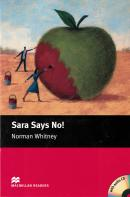 SARA SAYS NO! MACMILLAN READERS STARTER - BOOK WITH AUDIO CD