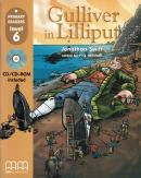 GULLIVER IN LILLIPUT - LEVEL 6 - INCLUDED CD/CDROM - AMERICAN EDITION