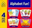 ALPHABET FUN - 4 PACK CARD SETS