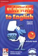 PLAYWAY TO ENGLISH 2 - ACTIVITY BOOK WITH CD-ROM - 2ND ED