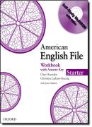 AMERICAN ENGLISH FILE STARTER WB WITH CDROM - 1ST ED