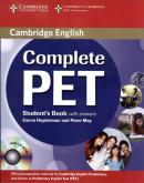 COMPLETE PET SB WITH ANSWERS WITH CD-ROM