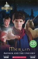 MERLIN - ARTHUR AND THE UNICORN WITH CD - ELEMENTARY