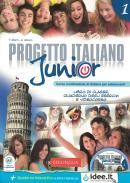PROGETTO ITALIANO JUNIOR 1 - LIBRO DI CLASSE & QUADERNO DEGLI ESERCIZI + CD AUDIO (A1)