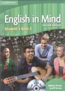 ENGLISH IN MIND 2 SB WITH DVD-ROM - 2ND ED