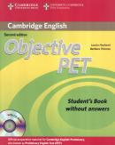 OBJECTIVE PET SB WITHOUT ANSWERS AND CD-ROM - 2ND ED