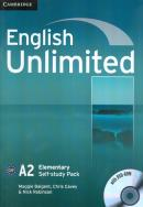 ENGLISH UNLIMITED ELEMENTARY WB PACK WITH DVDROM - 1ST ED