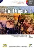 DON QUIJOTE DE LA MANCHA 1 - LITERATURA HISPANICA DE FACIL LECTURA BASICO - LIBRO CON CD AUDIO