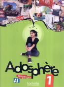 ADOSPHERE 1  (A1.1) - LIVRE DE L´ELEVE + CD AUDIO