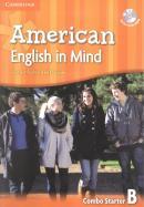 AMERICAN ENGLISH IN MIND STARTER B SB/WB/DVD ROM - 1ST ED