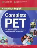 COMPLETE PET SB WITHOUT ANSWER WITH CD-ROM