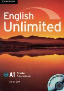 ENGLISH UNLIMITED STARTER CB WITH DVD-ROM - 1ST ED