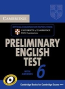 CAMBRIDGE PET 6 STUDENT´S BOOK WITH ANSWERS