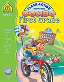 FIRST GRADE FLASH ACTION SOFTWARE & WORKBOOK COMBO