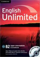 ENGLISH UNLIMITED UPPER INTERMEDIATE CB WITH E-PORTFOLIO DVD-ROM - 1ST ED