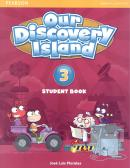 OUR DISCOVERY ISLAND 3 SB/WB/ONLINE ACCESS CODE/MULTIROM - 1ST ED