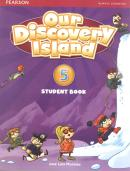 OUR DISCOVERY ISLAND 5 SB/WB/ONLINE ACCESS CODE/MULTIROM - 1ST ED