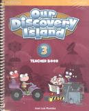 OUR DISCOVERY ISLAND TEACHER BOOK 3 ENGLISH PACK (TB + WORKBOOK + ONLINE ACCESS CODE + MULTIROM) - 1ST ED