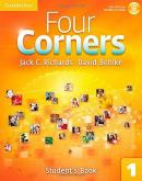 FOUR CORNERS 1 SB WITH CD-ROM - 1ST ED  - CUP - CAMBRIDGE UNIVERSITY