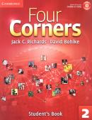 FOUR CORNERS 2 SB WITH CD-ROM - 1ST ED