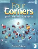 FOUR CORNERS 3 SB WITH CD-ROM - 1ST ED