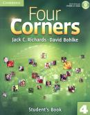 FOUR CORNERS 4 SB WITH CD-ROM - 1ST ED
