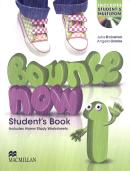 BOUNCE NOW 1 SB WITH  ACTIVITY BOOK & CD-ROM - 1ST ED