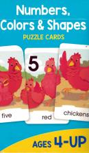 NUMBERS, COLORS & SHAPES - PUZZLE CARDS