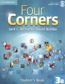 FOUR CORNERS 3B SB WITH CD-ROM - 1ST ED