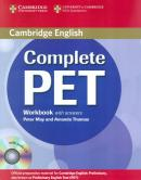 COMPLETE PET WORKBOOK WITH ANSWERS AND AUDIO CD