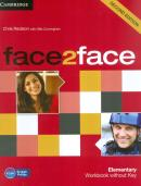 FACE2FACE 2ND EDITION ELEMENTARY WORKBOOK WITHOUT KEY - 2ND ED