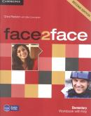 FACE2FACE 2ND EDITION ELEMENTARY WORKBOOK WITH KEY - 2ND ED