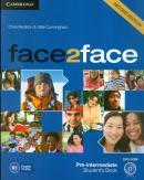 FACE2FACE PRE-INTERM SB W DVD-ROM - 2ND ED
