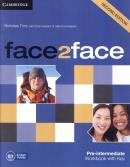 FACE2FACE PRE-INTERMEDIATE WB WITH KEY - 2ND ED