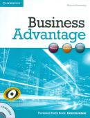 BUSINESS ADVANTAGE INTERMEDIATE PERSONAL STUDY BOOK WITH CD - 1ST ED