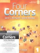 FOUR CORNERS 1 SB WITH CD-ROM AND ONLINE WB - 1ST ED