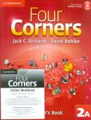 FOUR CORNERS 2A - STUDENTS BOOK WITH CD-ROM AND ONLINE WORKBOOK