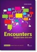 ENCOUNTERS ENGLISH HERE AND NOW ELEMENTARY STUDENTS BOOK