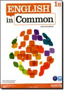 ENGLISH IN COMMON 1B SPLIT SB AND WB WITH MYLAB - 1ST ED