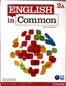 ENGLISH IN COMMON 2A SPLIT SB WITH ACTIVEBOOK AND WB AND MYENGLISHLAB - 1ST ED