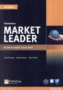 MARKET LEADER ELEMENTARY SB WITH DVD-ROM - 3RD ED