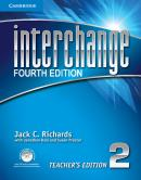 INTERCHANGE 2 TEACHERS BOOK WITH CD-ROM - FOURTH EDITION
