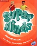 SUPER MINDS BRITISH 4 STUDENT´S BOOK WITH DVD-ROM - 1ST ED
