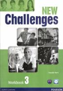 NEW CHALLENGES 3 WORKBOOK WITH AUDIO CD - 2ND ED