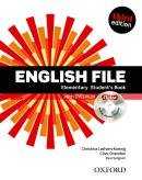 ENGLISH FILE ELEMENTARY SB WITH ITUTOR - 3RD ED