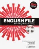 ENGLISH FILE ELEMENTARY WB WITH KEY AND ICHECKER 3ED