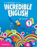 INCREDIBLE ENGLISH 1 CLASS BOOK - SECOND EDITION